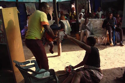 bongo and nanzile in action at ngozi
