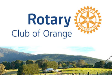 Rotary Club of Orange logo