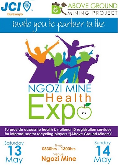 poster for ngozi mine health expo
