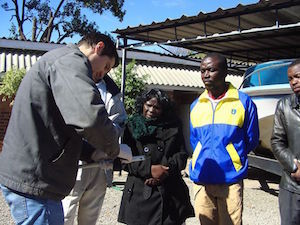 pipe joining and repair workshop held for bulawayo community gardeners